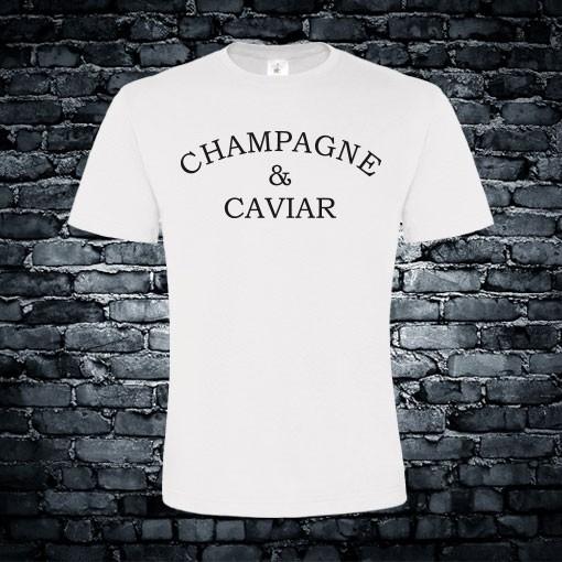 Champagne & Caviar T-shirt