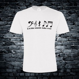 Let the music take over T-shirt