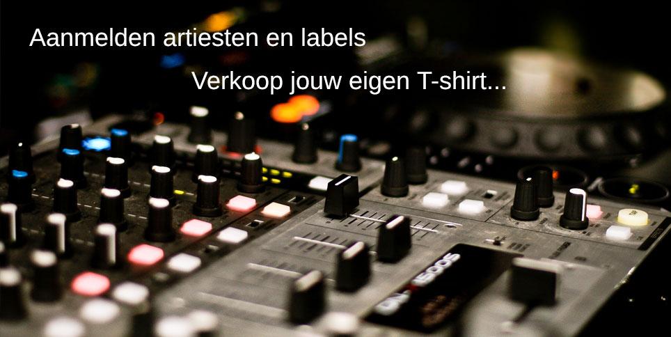 Aanmelden artiesten labels